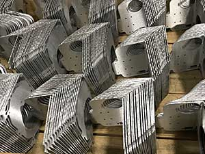 Sheet Metal Stamping - Laser Cutting - CNC Machining - TIG Welding - Apahouser - MA